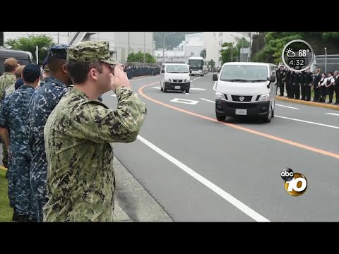 USS Fitzgerald sailor's body returned to San Diego