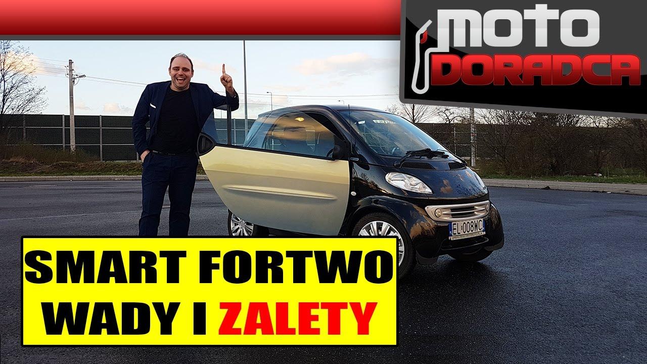 Smart FORTWO WADY I ZALETY #MOTODORADCA