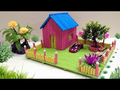 How to Make Paper house building - Beautiful and colourful Dreamhouse