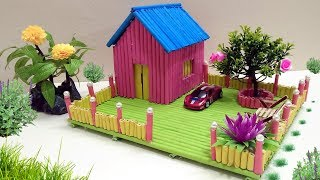 How to Make Paper house building - Beautiful and colourful Dreamhouse thumbnail