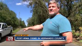 Crime increases in Hernando County after Irma