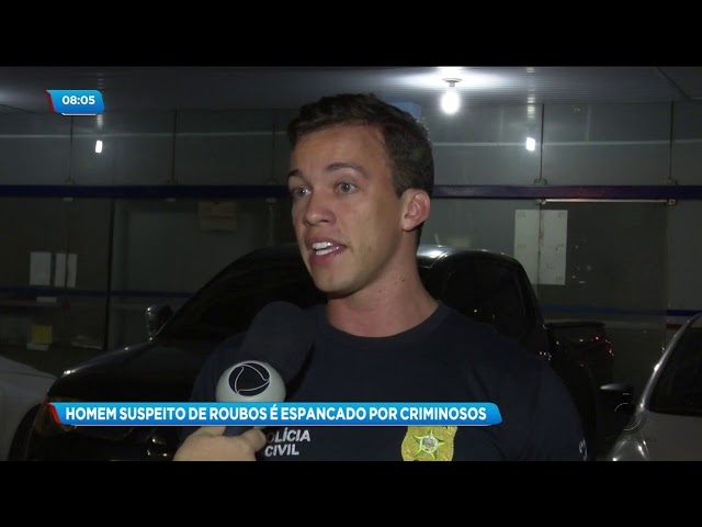 Suspeito de roubo foi espancado por quatro criminosos em Marechal Deodoro