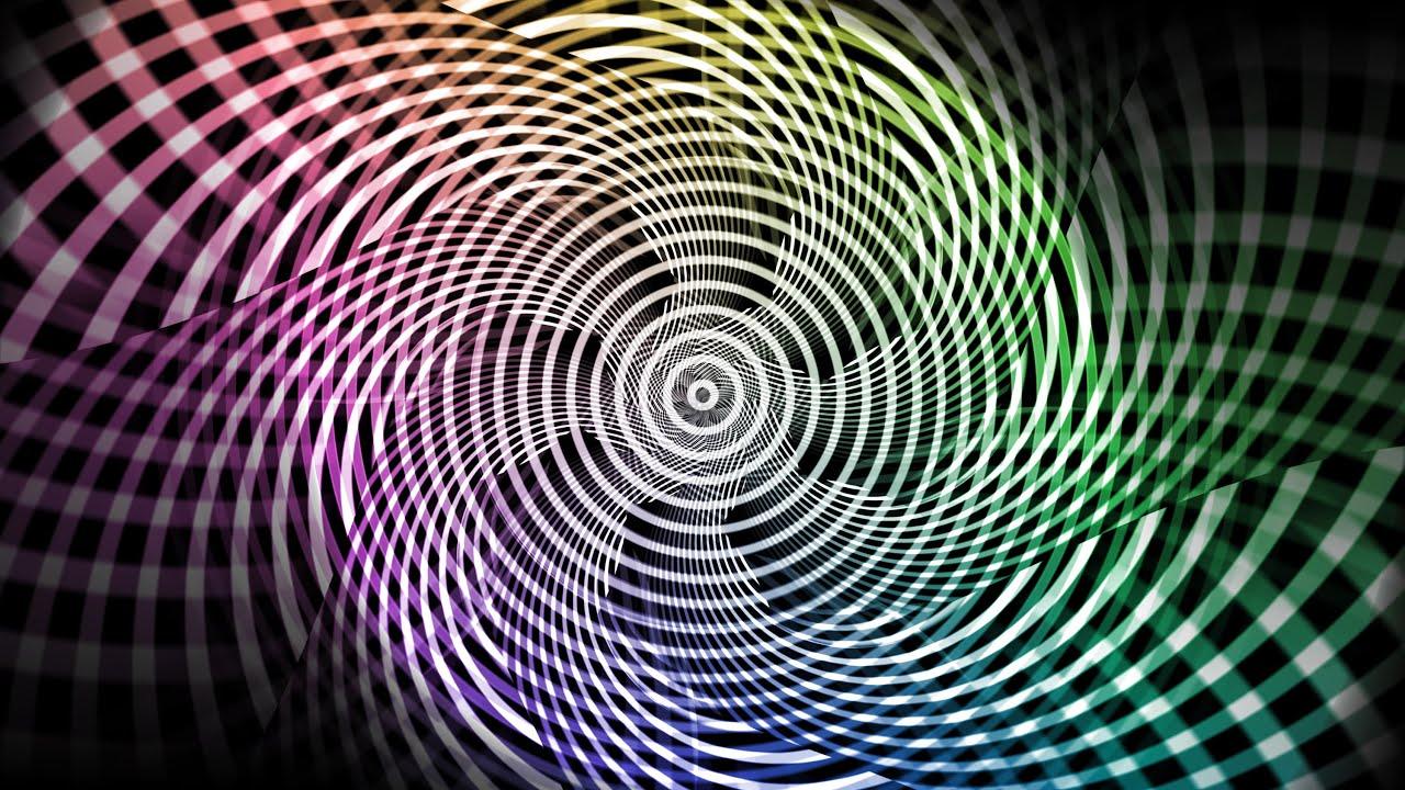 optical illusion spiral 4k effects circle illusions