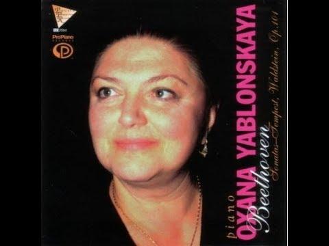 "3. 3. Allegretto, Sonata No.17 in D Minor, Op. 31 No.2 ""Tempest"" , Oxana Yablonskaya,  Piano"