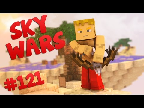 Minecraft Sky War's #121 MAPA SPORT , TRON , FLOWERS & TIME ! :D