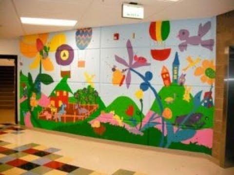 Hiasan Dinding Kelas Tk Supaya Anak Betah Di