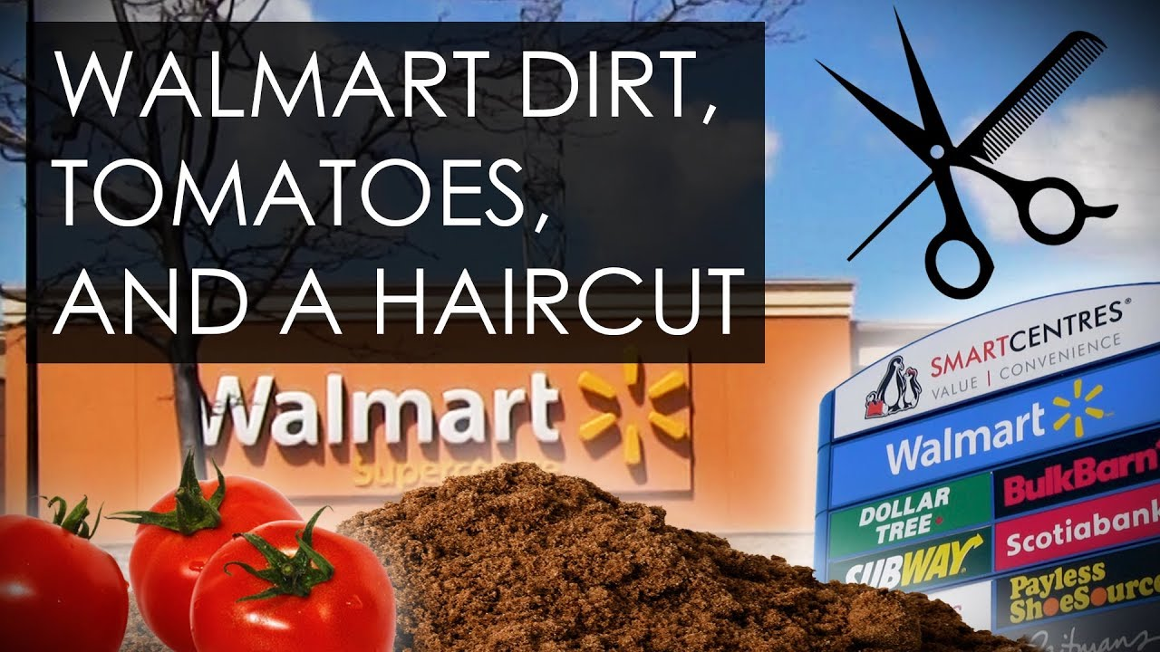 Crazy Vlog Walmart Dirt Tomatoes And A Haircut Youtube