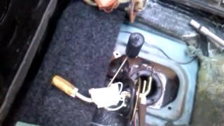 ВАЗ 21099 - ремонт и замена датчика уровня топлива