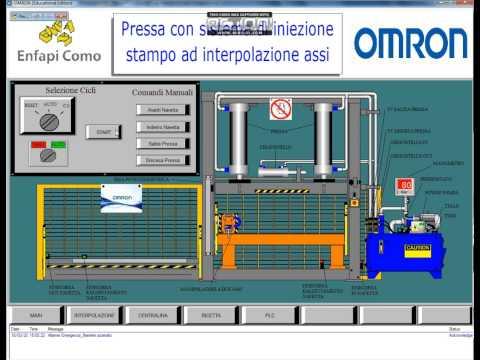 Smart Project Omron 2015, Pressa con sistema di iniezione ad interpolazione