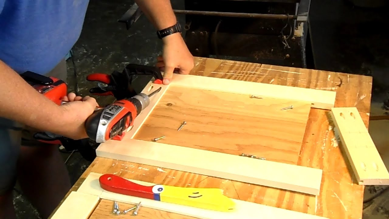 Making Panel Doors Using Pocket Hole Screws - YouTube