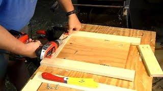 Making Panel Doors Using Pocket Hole Screws