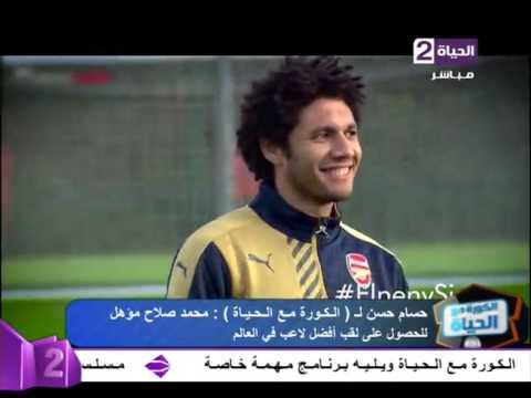 """الكورة مع الحياة - حسام حسن """"محمد صلاح مؤهل للحصول على أفضل لاعب بالعالم وأفضل من رياض محرز"""""""