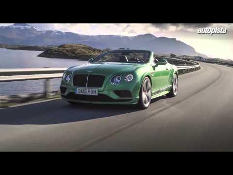 Bentley Continental 2016: actualizando un clásico