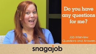Job interview questions and answers (Part 7): Do you have any questions for me?