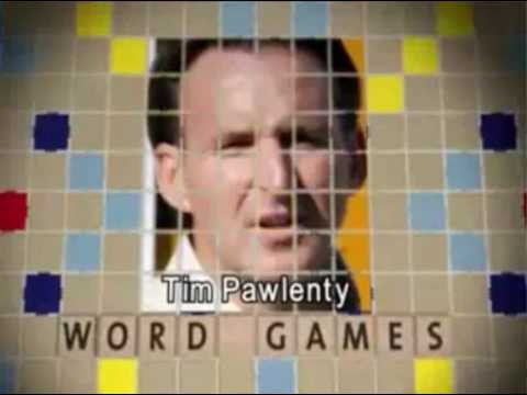 Word Games Political Ad: Minnesota DFL Party Against Governor Tim Pawlenty