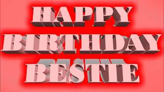 Happy Birthday Bestie Animation Whatsapp Status Video Messages Sms Greetings Wishes