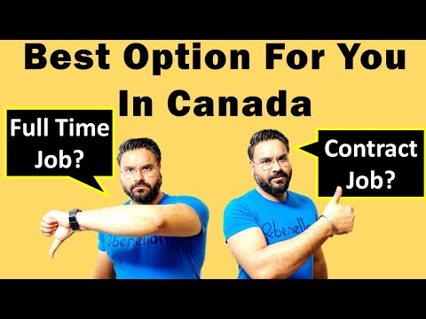 Why I Left My Full Time Job In Canada | Contract Vs Full Time Job In Canada | Canada Couple