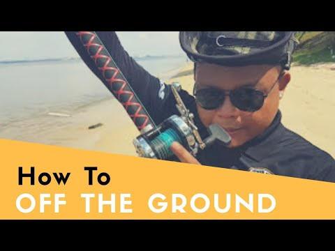 How to do an off the ground cast (explained)  By (PASurfcasters)