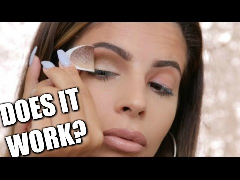 Press On EyeShadow  | DOES IT WORK?!