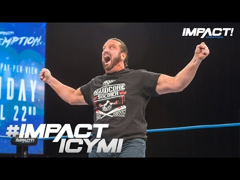 Tommy Dreamer Returns to DESTROY Sami Callihan & oVe | IMPACT! Highlights Apr. 12 2018