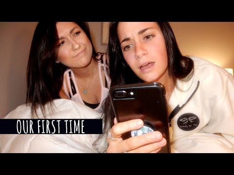 IN BED WITH ALISSA & SAM | OUR FIRST TIME