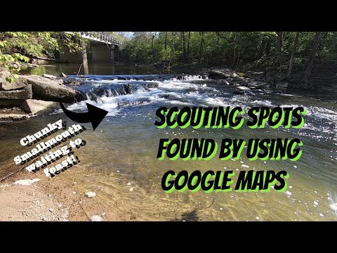 SCOUTING SPOTS FOUND BY USING GOOGLE MAPS