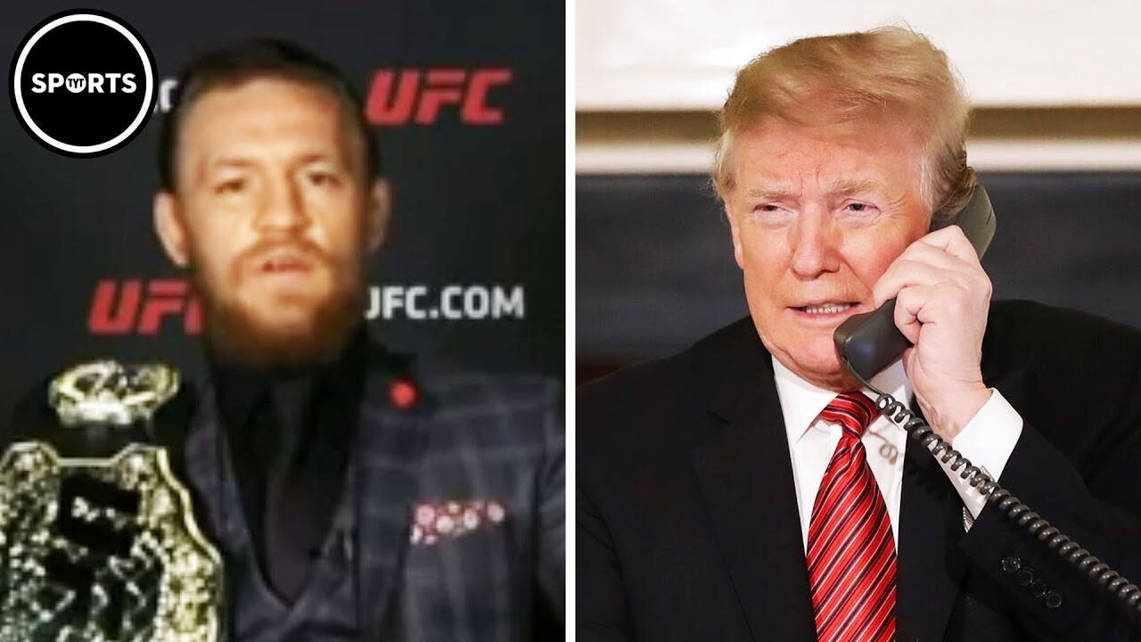Conor McGregor And Trump Get Friendly On Twitter