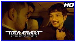 Indrajith 2017 Tamil Movie   Gautham Karthik Fights Goons And Saved Sachin Khedekar