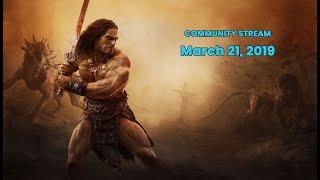 Conan Exiles: From Ashen Risen RP server Tour