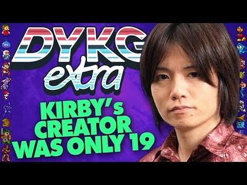 Kirby's Creator Sakurai Was Only 19 Years Old - Did You Know Gaming extra Feat. Dazz