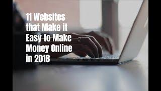how to earn money online 2018