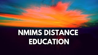 NMIMS Distance Learning - Courses & Fee