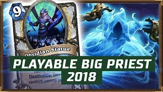 Playable Big Priest 2018 | The Witchwood | Hearthstone