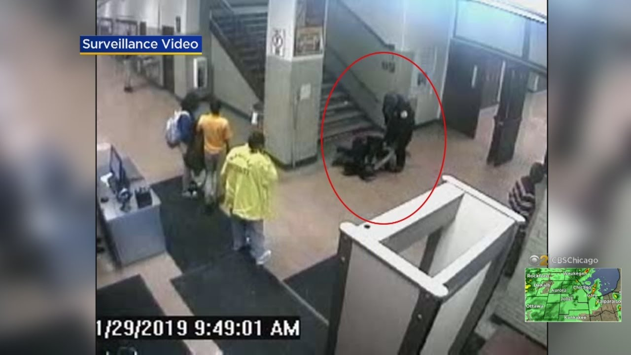 New Angle Of Video Of Marshall High School Student Tased Does Not Match  What CPD Officers Originally