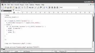 Beginner PHP Tutorial - 167 - Creating Captcha Image Security Part 4