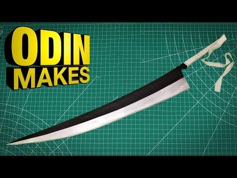Odin Makes: Ichigo's Zangetsu Sword From Bleach