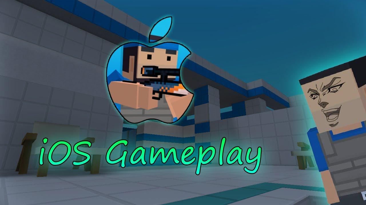iOS Gamplay - Block Strike