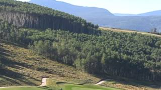 Golf Course Colorado fairway trees mtn