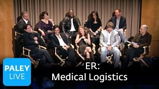 ER - The ER Cast on Medical Logistics (Paley Center)