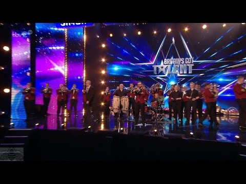 Britain's Got More Talent 2017 Tredegar Town Brass Band Full Clip S11E05