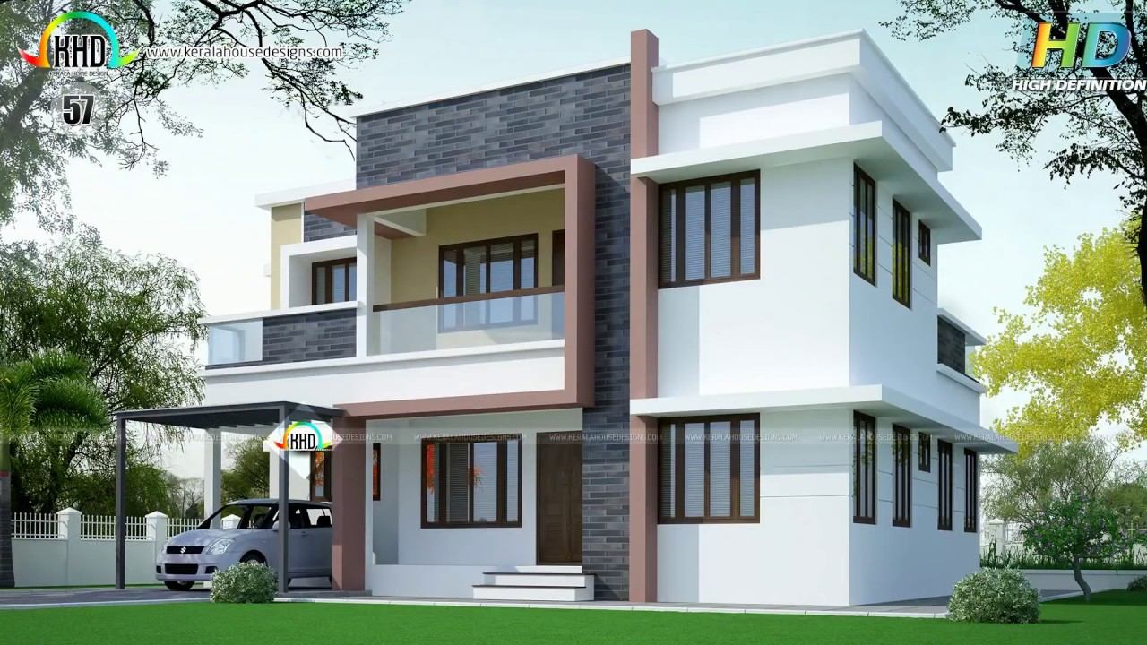 Top 50 house plans of february 2016 youtube for Kerala house designs and floor plans 2016