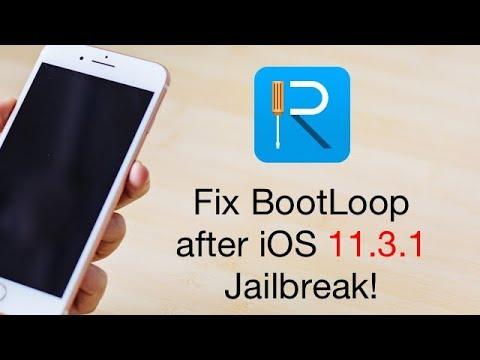 iphone stuck on boot screen after jailbreak