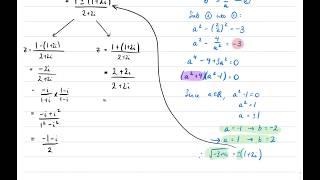 Solutions of (1+i)z² - z - i = 0