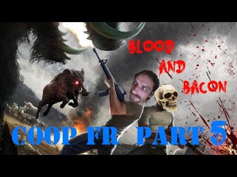 Download Blood and Bacon - Let's Play Coop fr Part 5 - ça c'est du cochon !