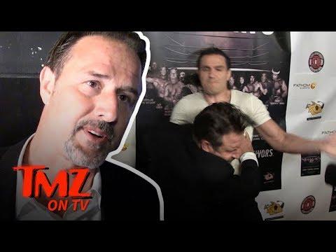David Arquette PIMP Slapped!  TMZ TV