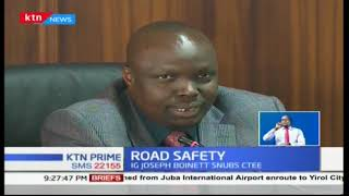 "MPs want IG Joseph Boinett to explain why ""people are dying on Kenyan roads"""