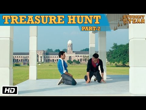 The Treasure Hunt: Part 2 - Student Of The Year - Sidharth Malhotra, Alia Bhatt & Varun Dhawan