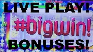 LIVE PLAY on Emoji Slot Machine With Bonuses and Big Wins!!!