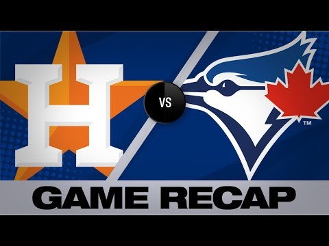 Springer Powers The Astros In A 7-4 Victory   Astros-Blue Jays Game Highlights 8/30/19