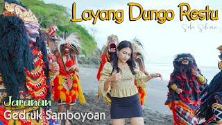 Versi Jaranan - LDR Layang Dungo Restu - SELA SILVINA - Rakha Gedruk Samboyoan